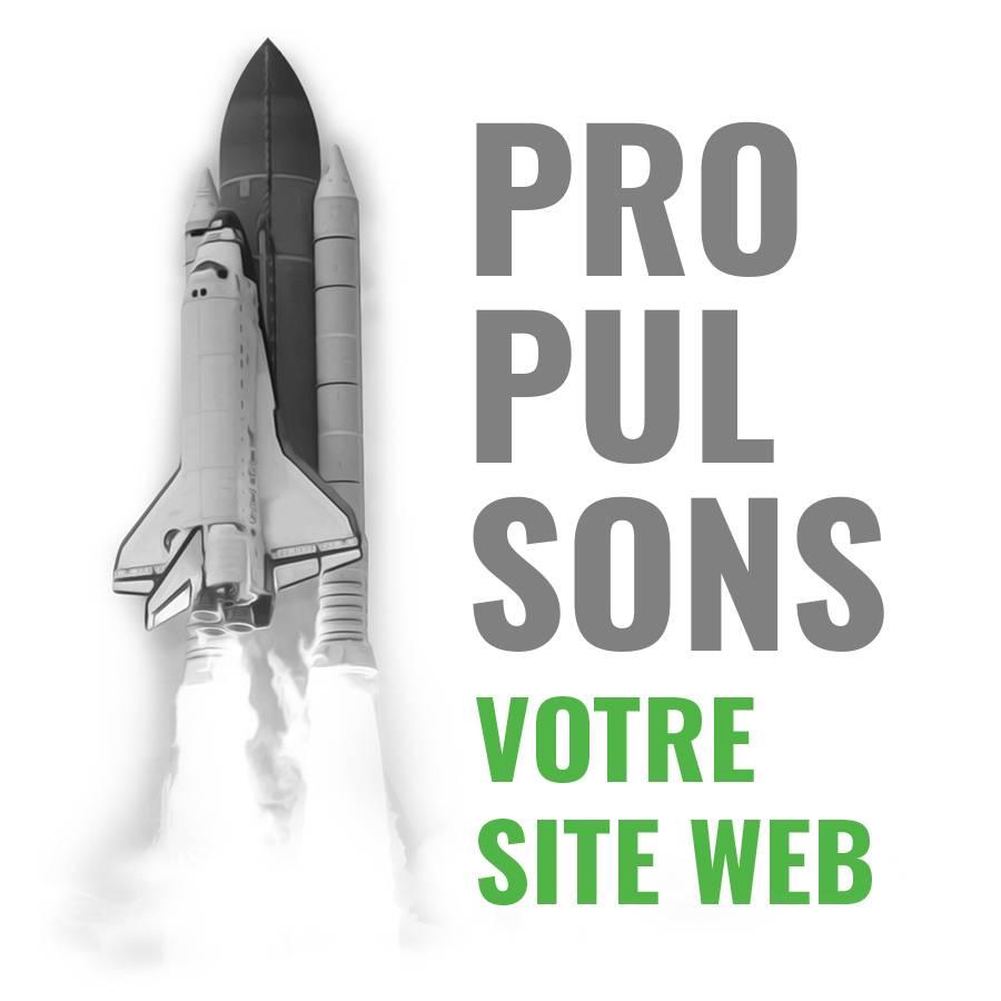 fusée propulsons mobile site web